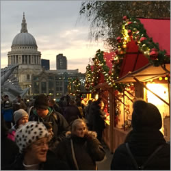 Christmas Market at Tate Modern
