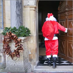 Father Christmas at Ham House and Garden